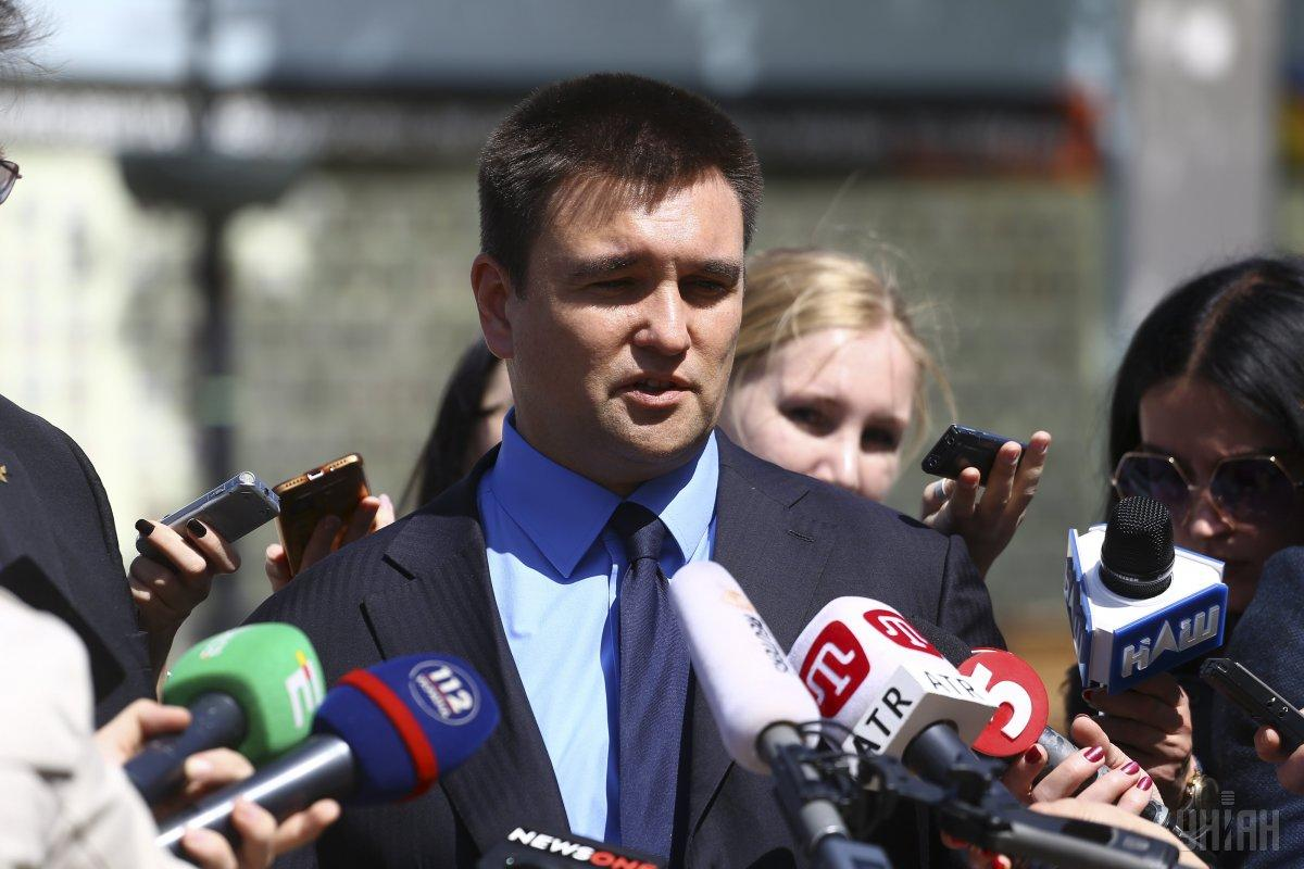 Климкин приветствовал назначение Тейлора временным поверенным в делах США в Украине / фото УНИАН
