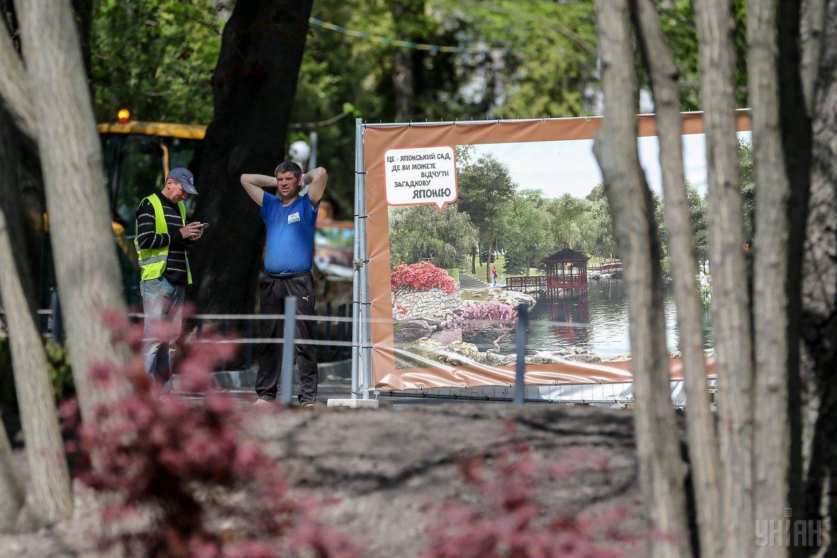 Реконструкцию киевского зоопарка планируют завершить за четыре года / Фото УНИАН
