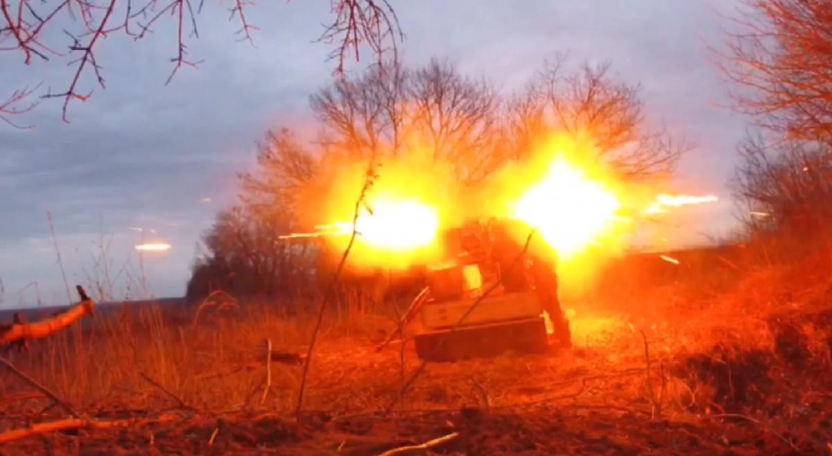 Выстрел ПТУРазафиксировали на видео / скриншот