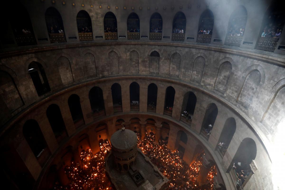 иерусалим фото колонны святого огня произведения искусства только