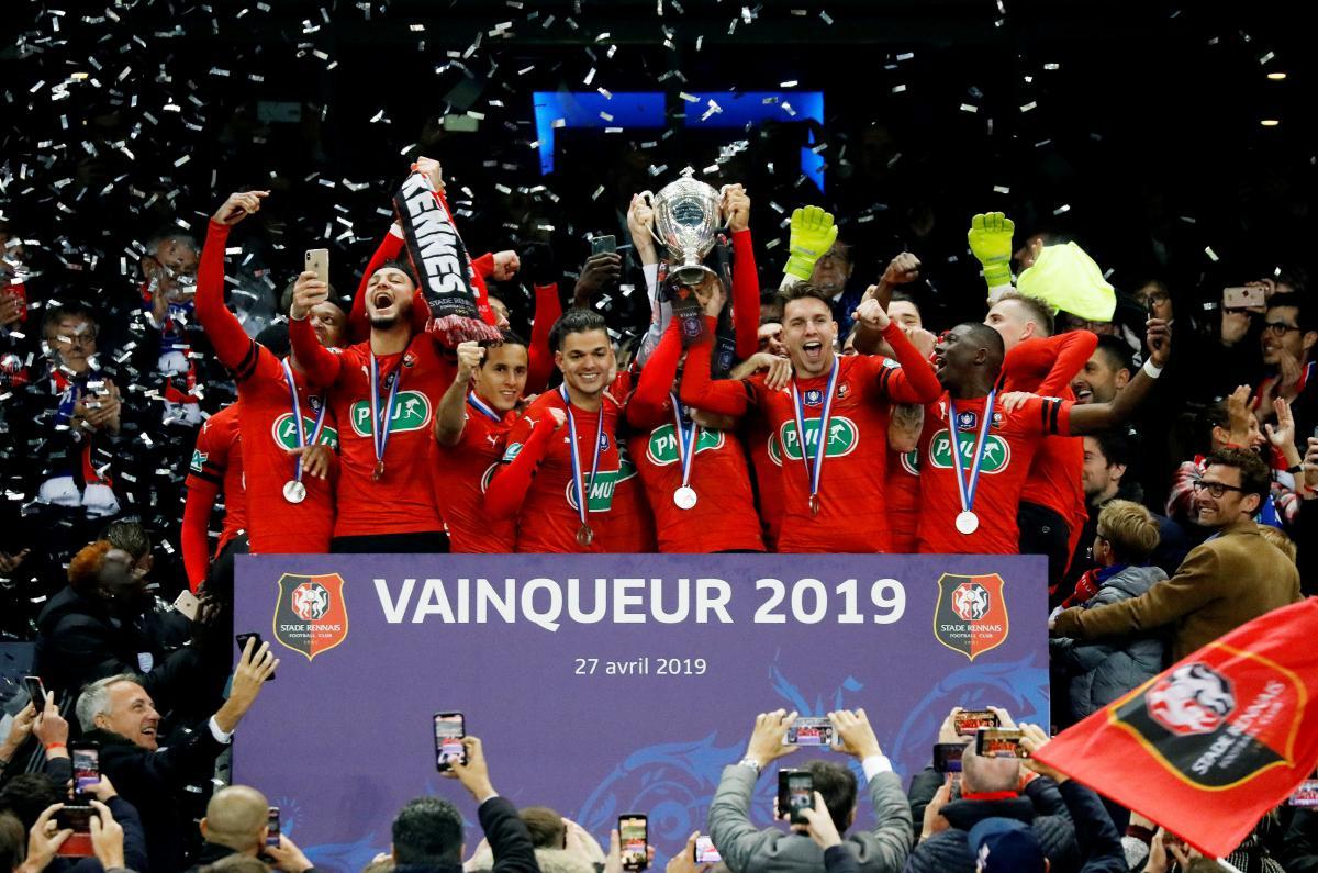 Ренн - обладатель Кубка Франции 2018-2019 / REUTERS