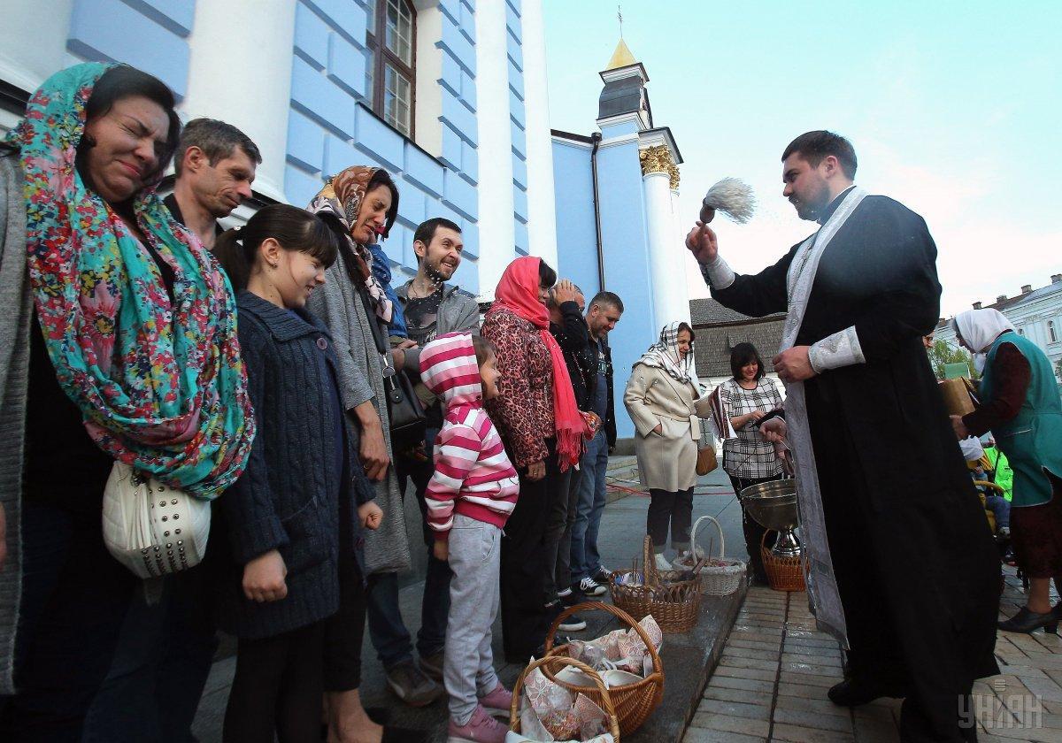 Сегодня украинцы празднуют Пасху / УНИАН