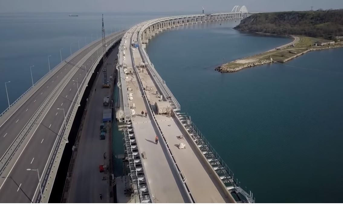 Експерти прогнозують, що Керченський міст завалиться / фото twitter.com/KrimRt