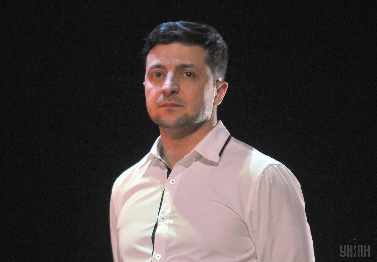 Zelensky thanks Ukrainian for support during the election / Photo from UNIAN
