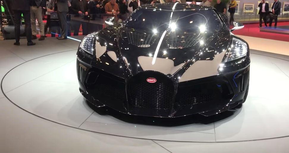 Bugatti La Voiture Noire - the most expensive car in the world / foxsports.it
