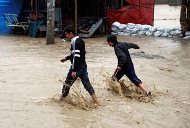 Афганистан пострадал от наводнения, пять человек погибли