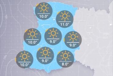 Прогноз погоди в Україні на вівторок, ранок 23 квітня