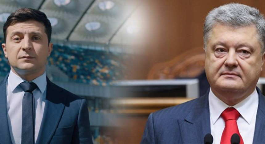 Zelensky at debate with Poroshenko: I've never talked with Putin in my life (Video)
