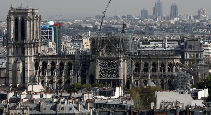 Worshippers in hard hats to attend Notre-Dame's first mass since fire – media