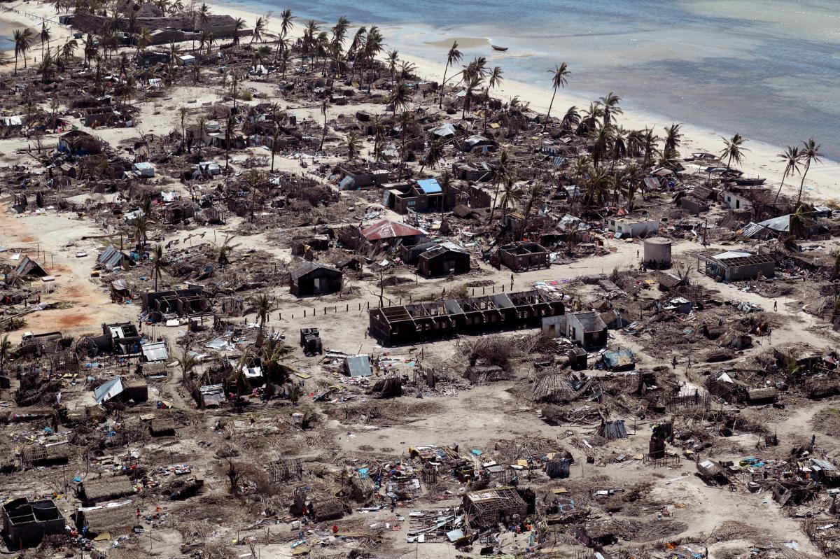 Последствия циклона в Мозамбике / REUTERS