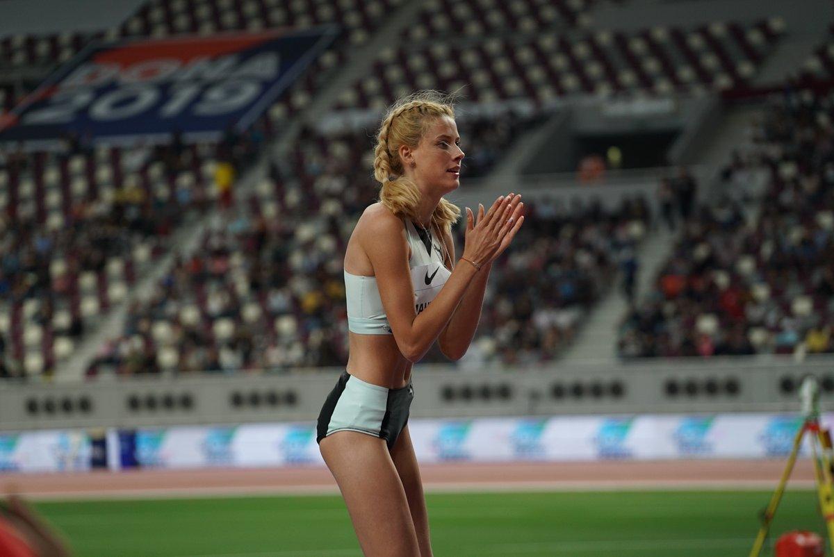 Ярослава Магучих - чемпионка первого этапа Бриллиантовой лиги / twitter.com/iaaforg