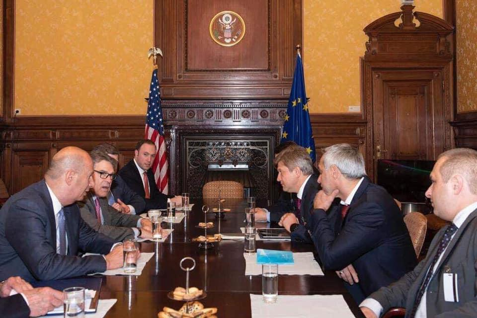 The meeting was also attended by United States Ambassador to the European Union Gordon Sondland / Photo from Zelensky's press service
