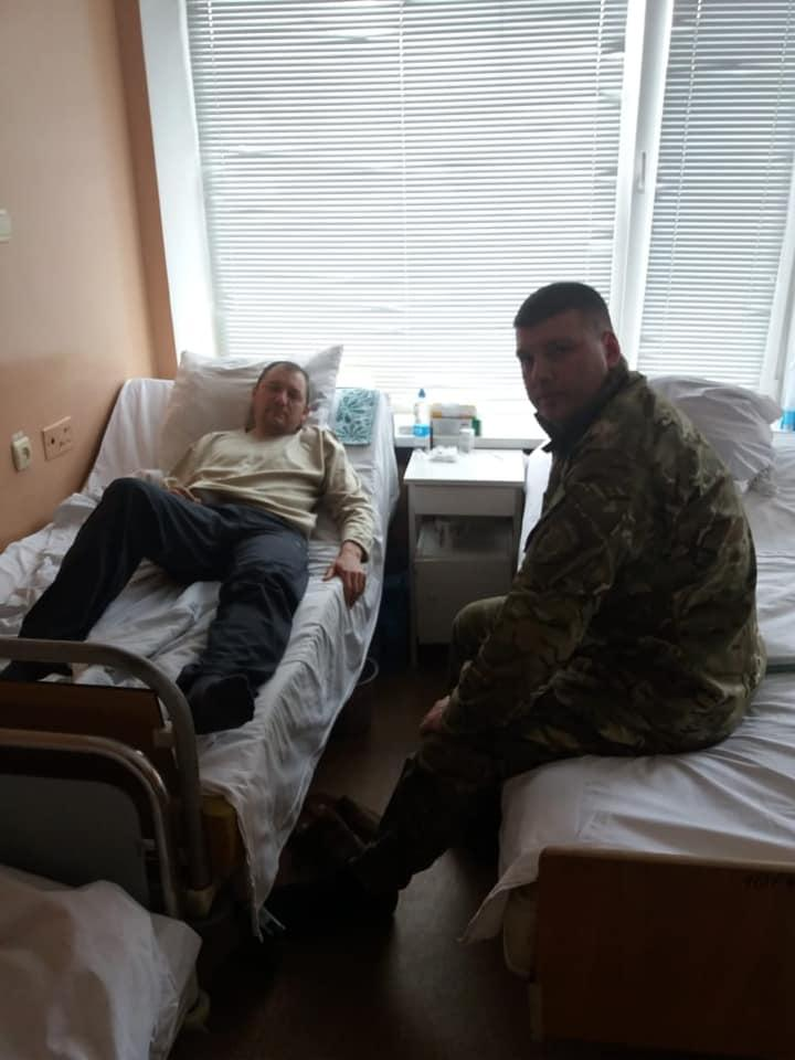 Один из пострадавших работников учреждения был госпитализирован / фото: ДКВСУ/Facebook