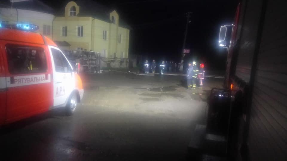 Спасатели ликвидировали последствия ДТП с бензовозом в Коломне / фото if.dsns.gov.ua