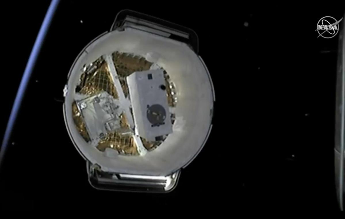 Ракета Falcon 9 вывела на орбиту Земли грузовой космический корабль Dragon / twitter.com/NASA