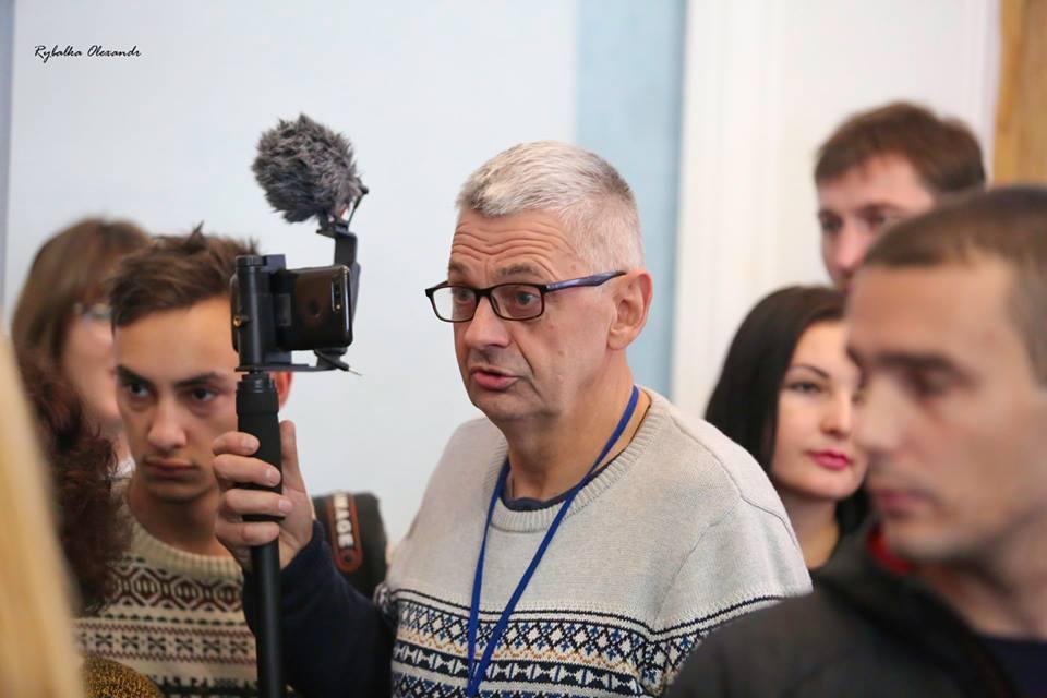 В Черкассах избили до крайне тяжелого состояния журналиста-расследователя / фото Вадим Комаров/facebook.com