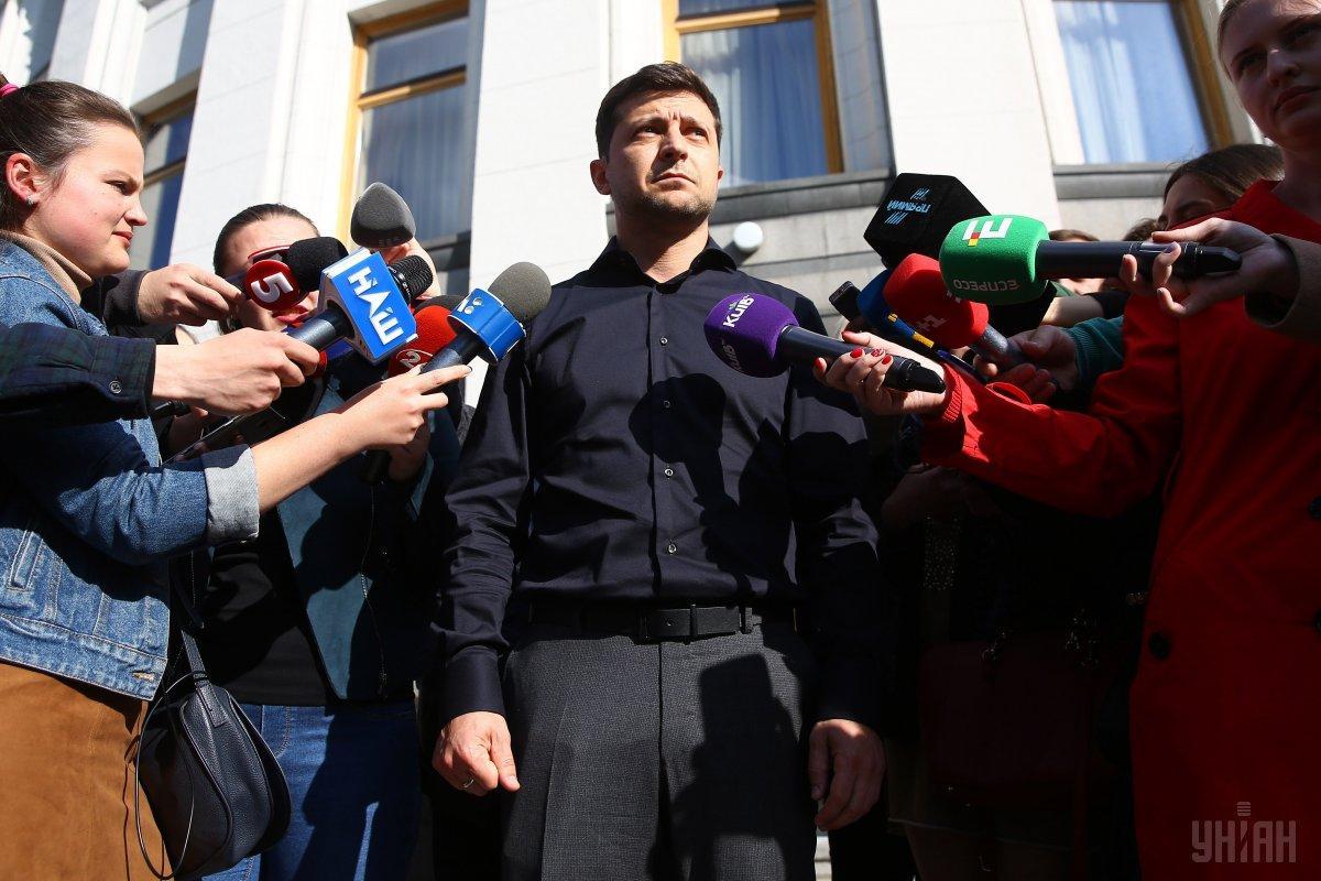 Политолог отметил, что Зеленский на встрече в субботу ничего не пообещал депутатам / фото УНИАН