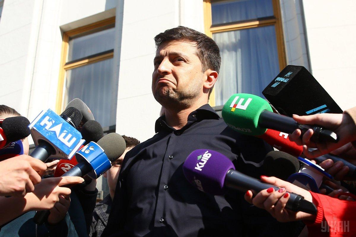 Зеленский отметил, что состоялась встреча - «первое знакомство» / фото УНИАН