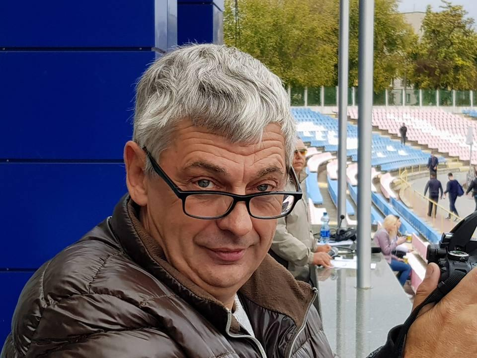 Journalist from Cherkasy Vadym Komarov / Photo from Komarov's Facebook page