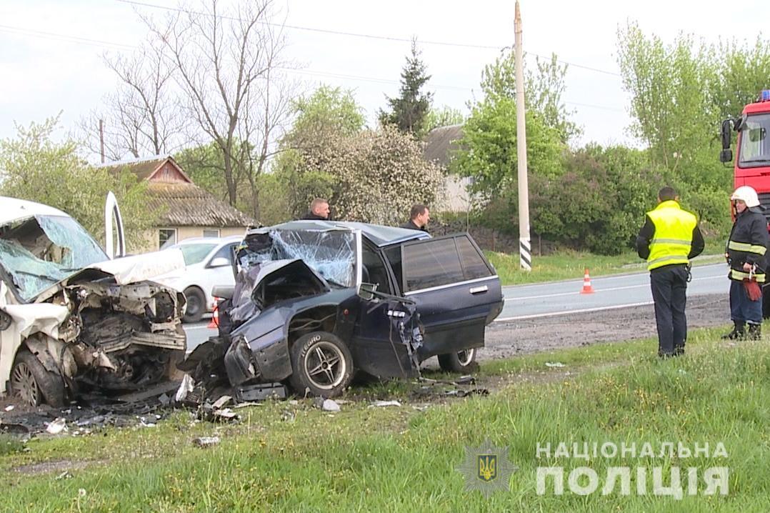 В ДТП погибли четыре человека / фото vn.npu.gov.ua
