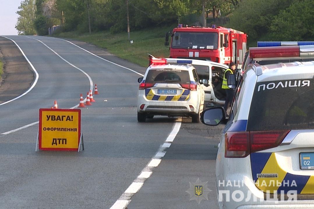 Статистика ДТП на дорогах страны весьма неутешительная / фото vn.npu.gov.ua