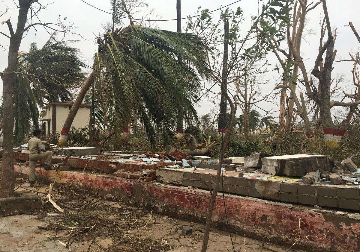 """Последствия циклона """"Фани"""" / REUTERS"""