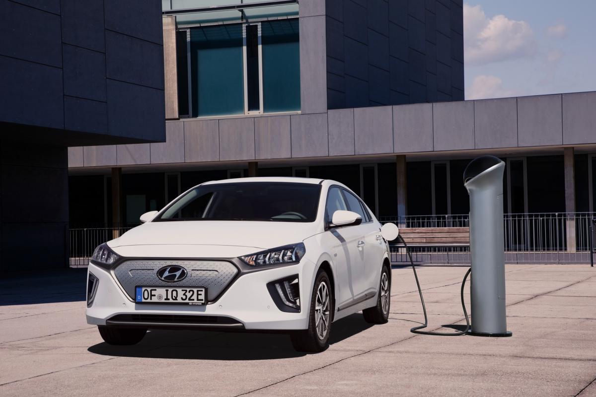 Мощность электродвигателя увеличилась до 136 л.с. / фото Hyundai