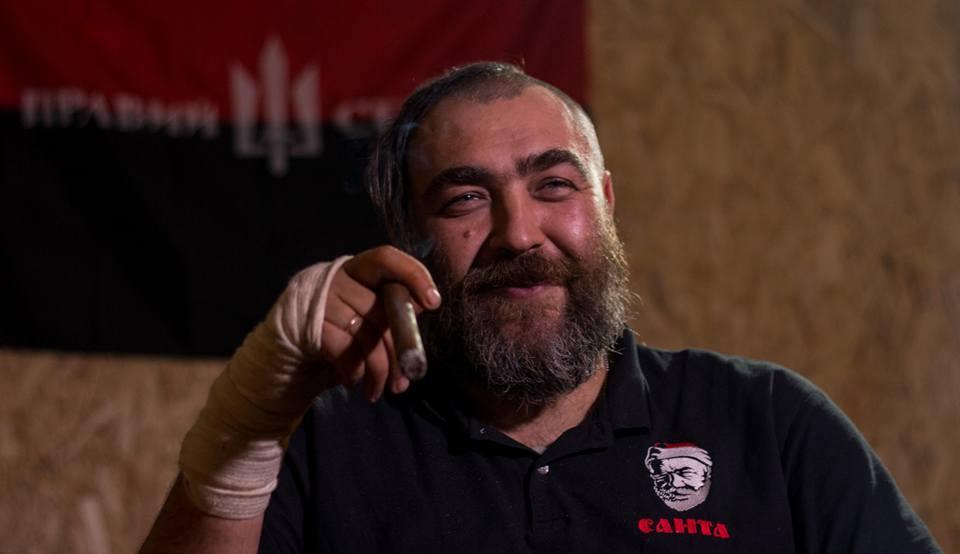 К стрельбе может быть причастен известный доброволец АТО «Санта»/ Владимир Регеша / Facebook