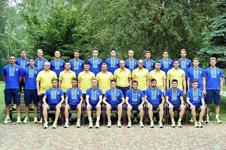 Молодежная сборная Украины по футболу / ffu.ua