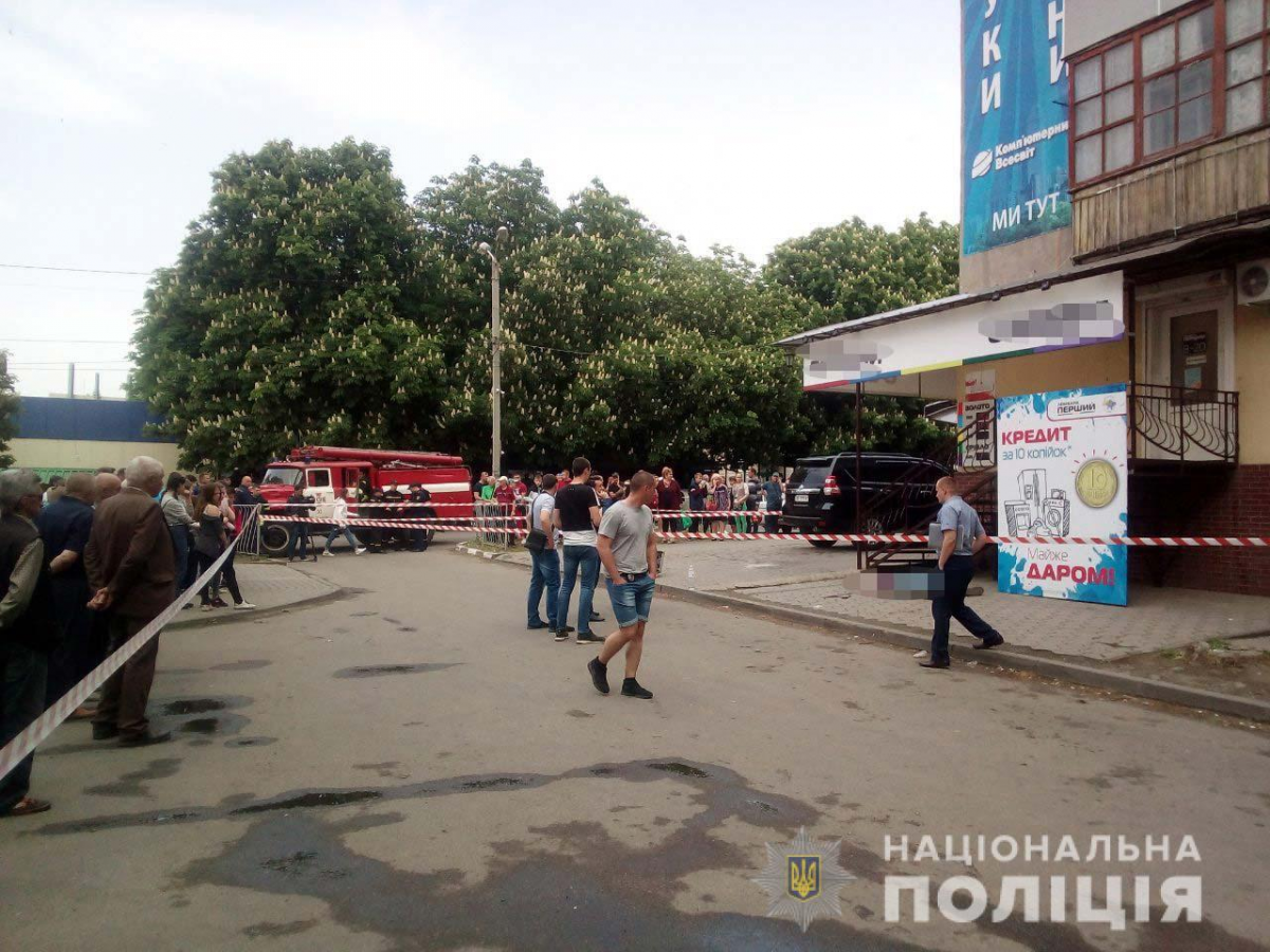 Жертвой взрыва стал один человек / фото dp.npu.gov.ua