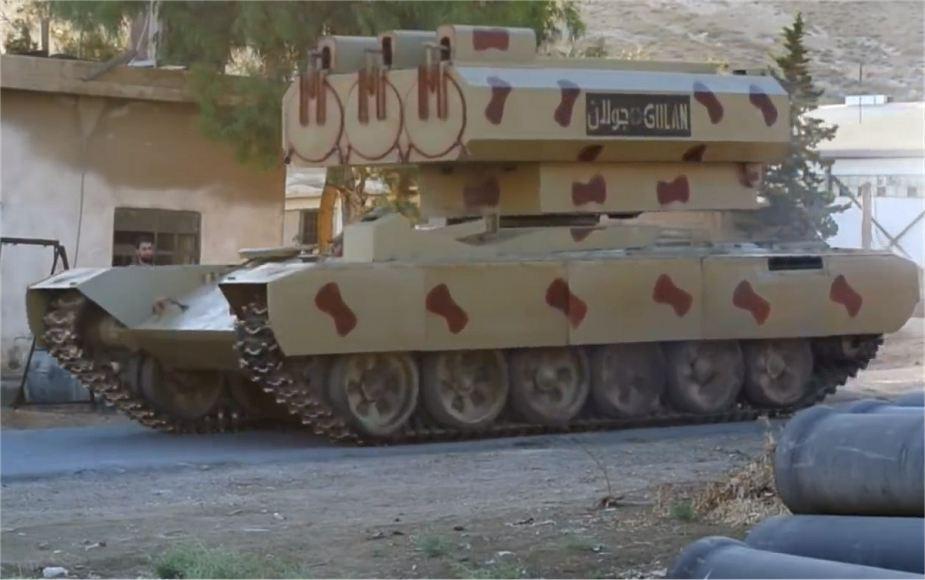 Армия Асада применила своеновоеракетное оружие / armyrecognition.com