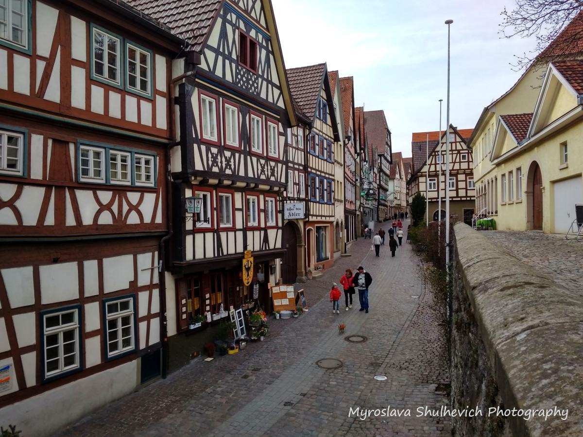 Бад-Вімпфен - одне з найстаріших міст Німеччини / фото Myroslava Shulhevich