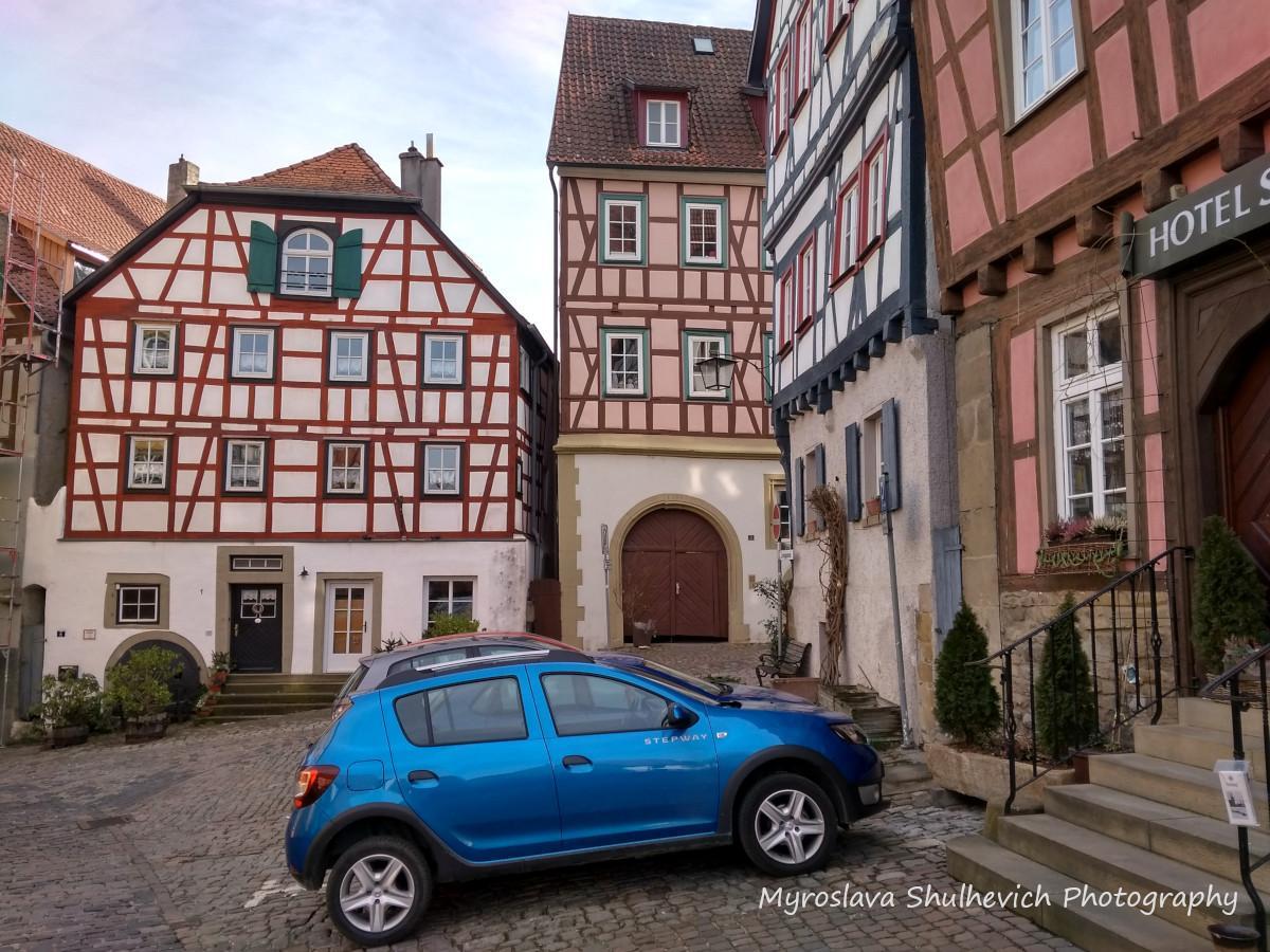 Маленьким німецьким містам характерні розміреність, порядок і чистота/ фото Myroslava Shulhevich