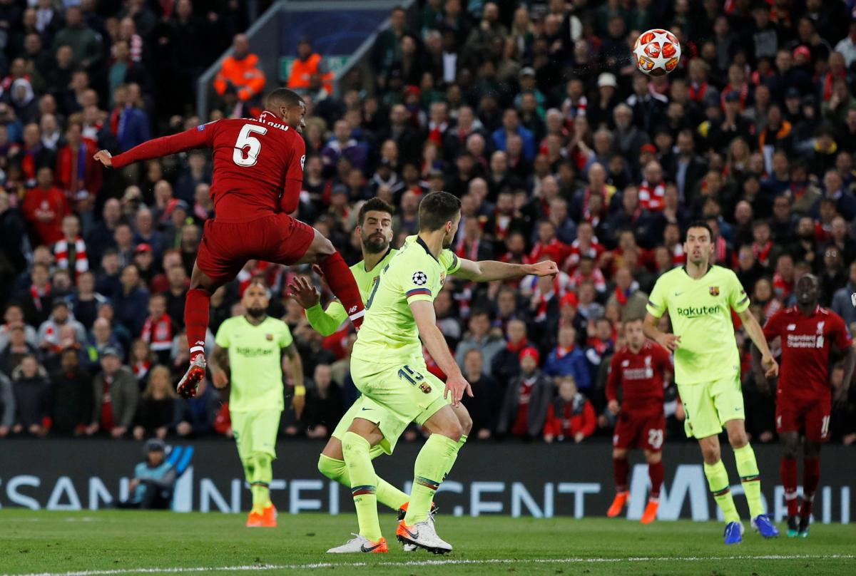 """""""Ливерпуль"""" обыграл """"Барселону"""" - 4:0 / REUTERS"""
