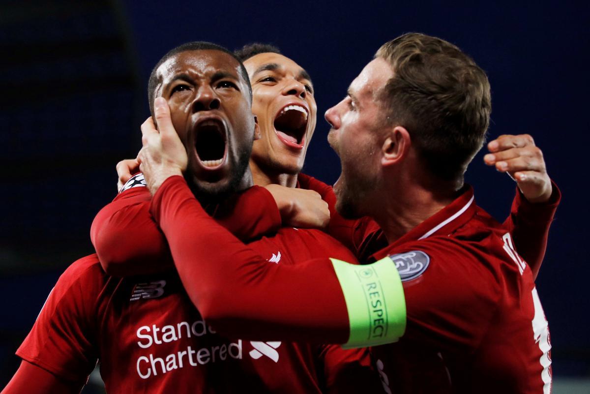 Ливерпуль - Барселона / REUTERS