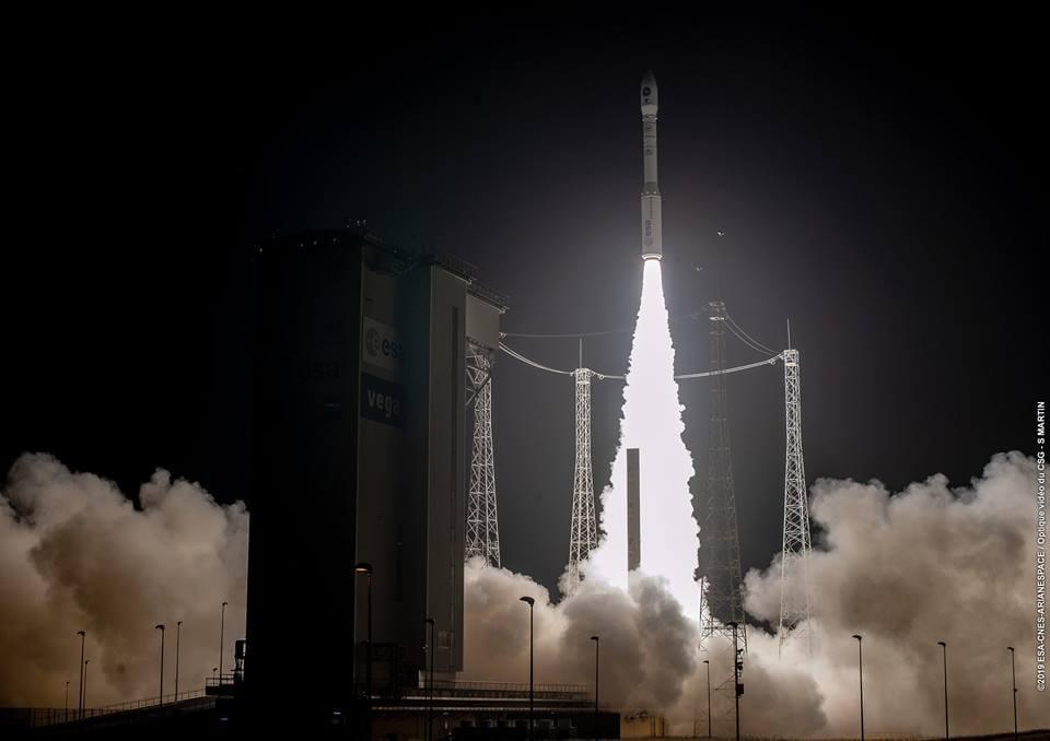 Ракету-носитель Vega с украинским двигателем запустили в космос 22 марта / фото facebook.com/yuzhnoye