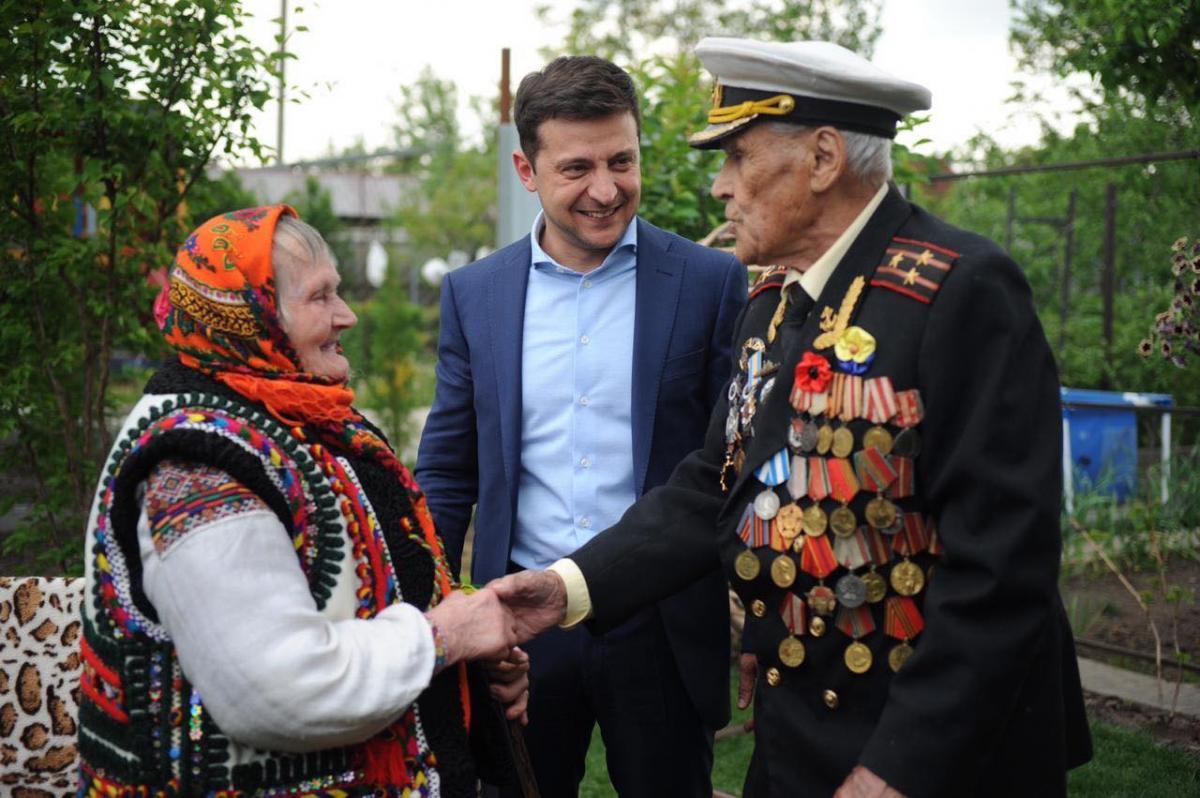 Facebook / Volodymyr Zelensky