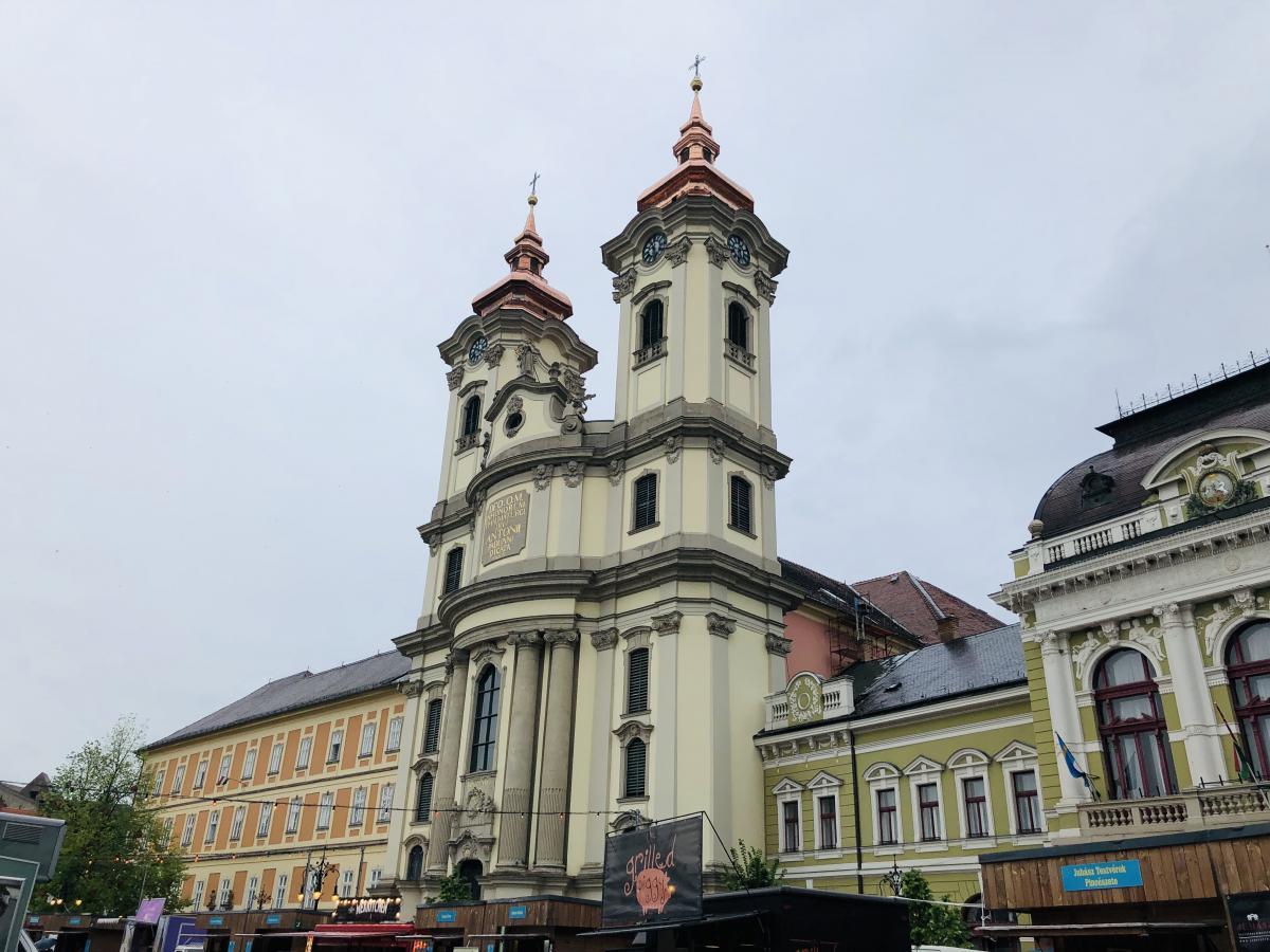 Церковь миноритов в Эгере / Фото Вероника Кордон