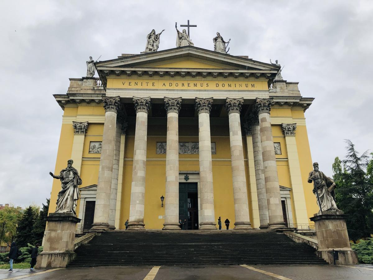 Главный кафедральный собор Эгера / Фото Вероника Кордон