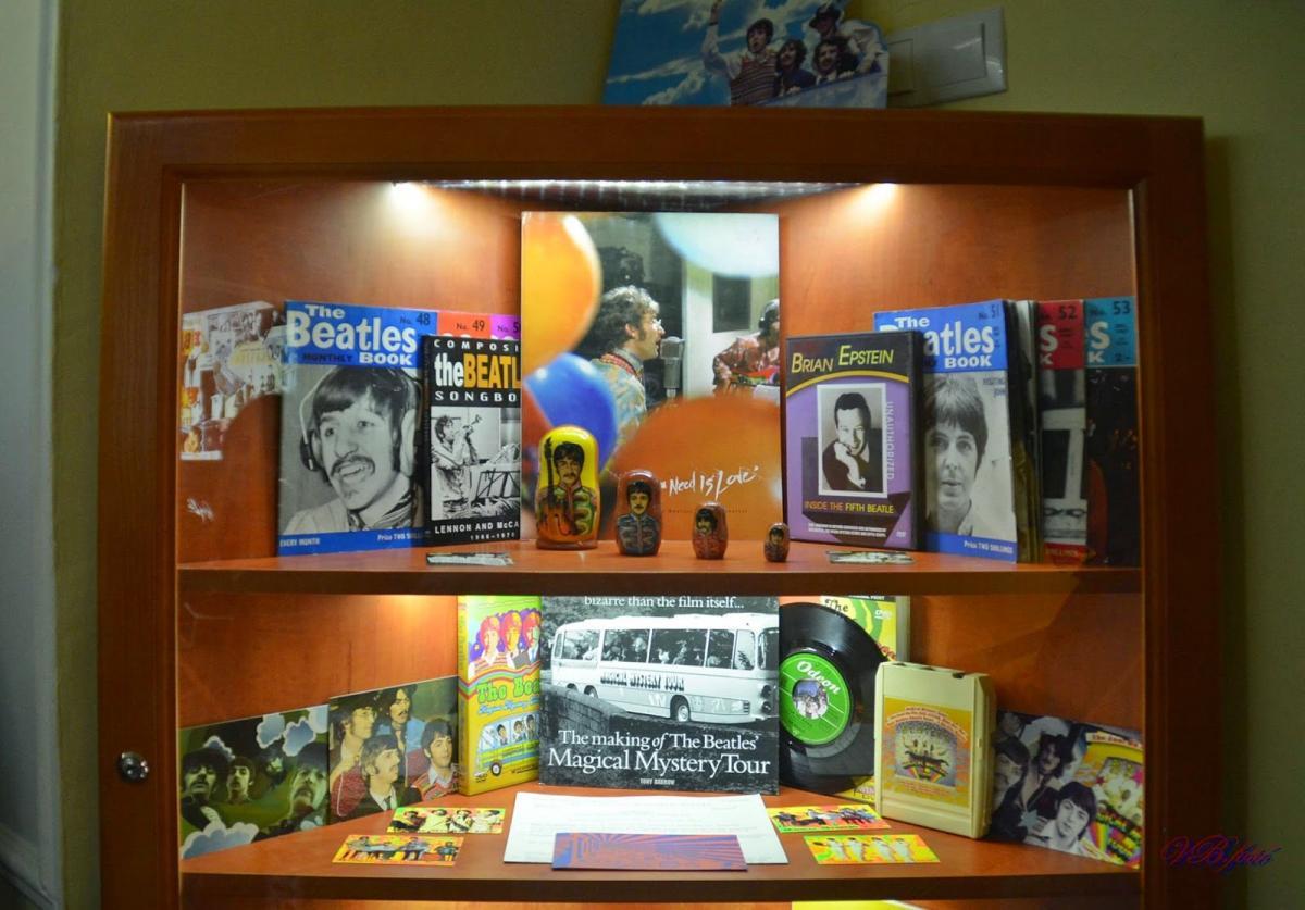Музей творчества группы Beatles в Эгере / Фото Вероника Кордон