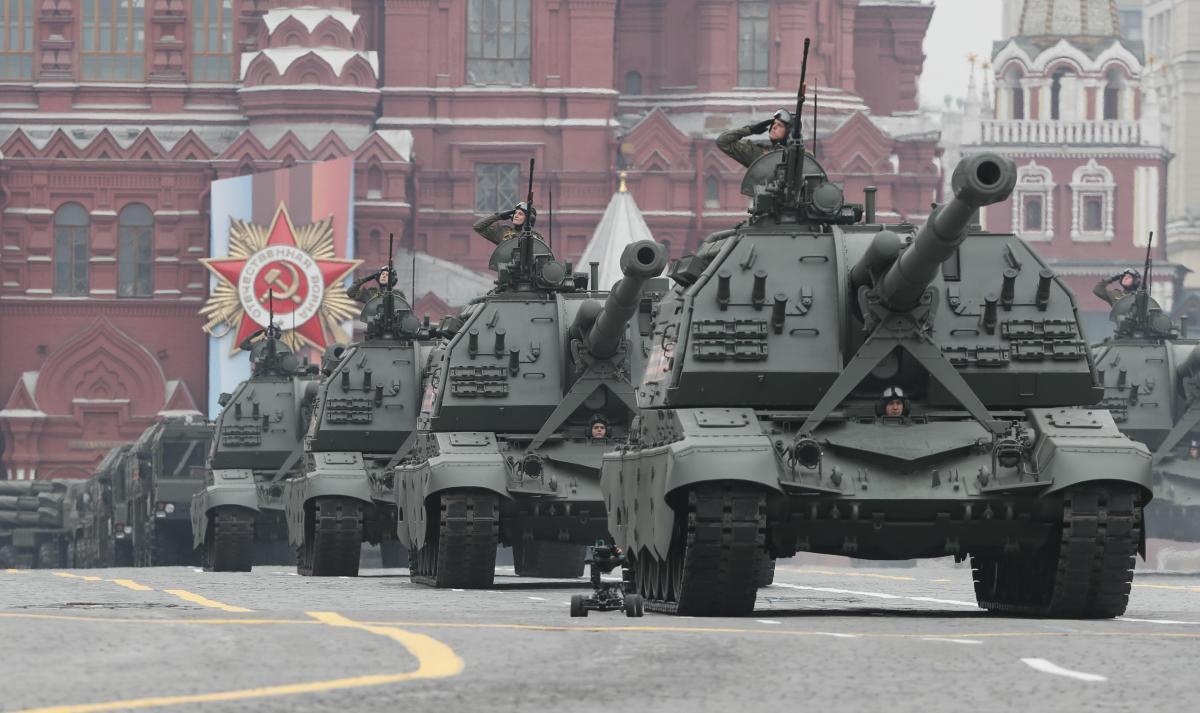 Американські аналітики оцінили російський військовий парад до 9 травня / REUTERS