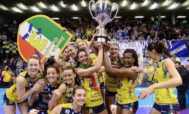 "Волейболистки ""Имоко Воллей"" выиграли чемпионат Италии / фото: instagram.com/imocovolley"