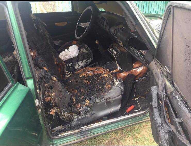 В Одеській області в автомобілі загинула 2-річна дівчинка / фото ГУ ДСНС в Одеській області