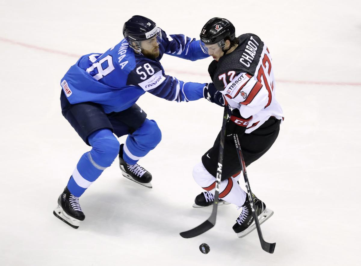Финляндия - Канада / REUTERS