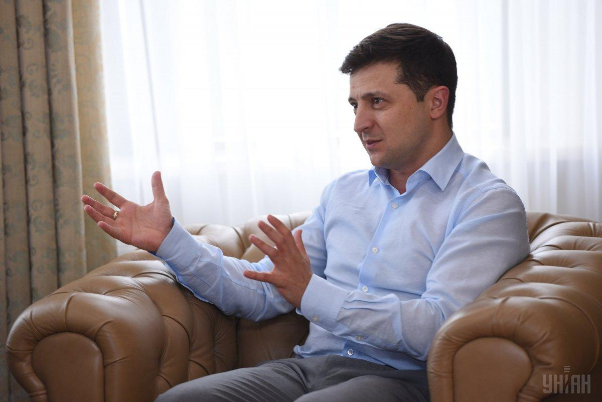 Zelensky asked the parliament to hold his inauguration on May 19 / Photo from UNIAN