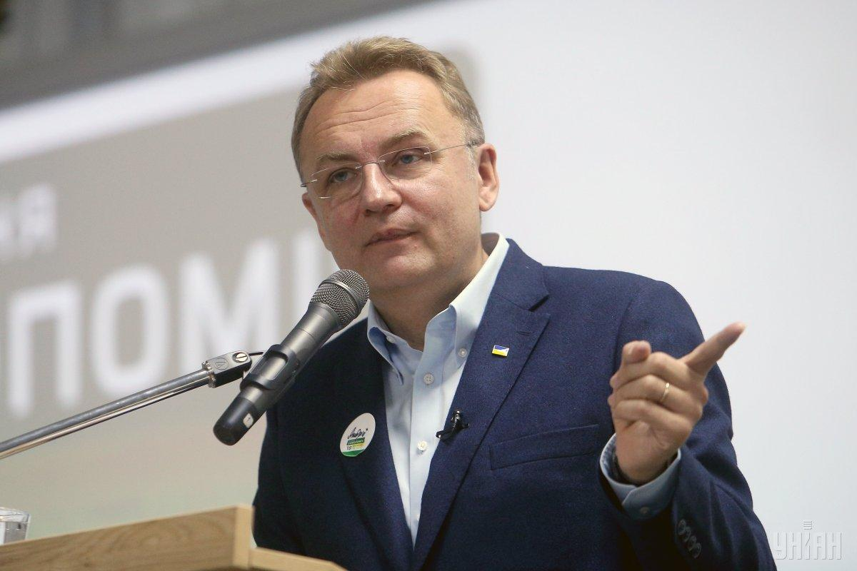Lviv Mayor Sadovyi has a good chance of beingelected for another term / Photo from UNIAN