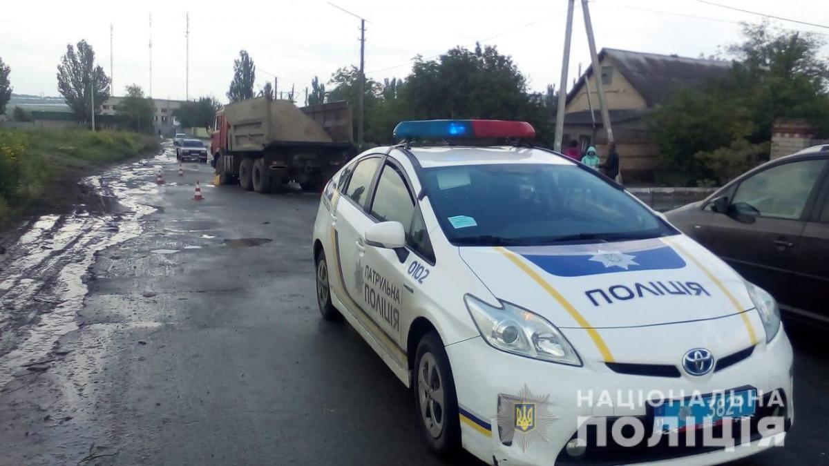 В Херсоне произошло смертельное ДТП, погиб ребенок / hr.npu.gov.ua