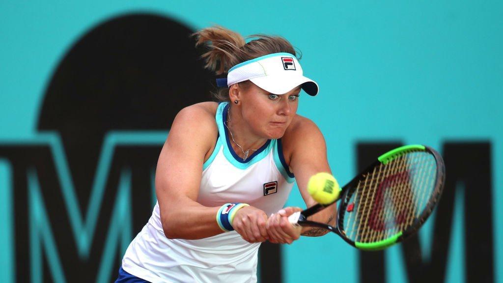 Козлова вийшла у друге коло / twitter.com/WTA