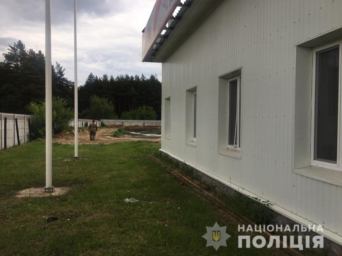 Взрывных устройств или опасных веществ правоохранители не обнаружили / фото facebook.com/police.kharkov