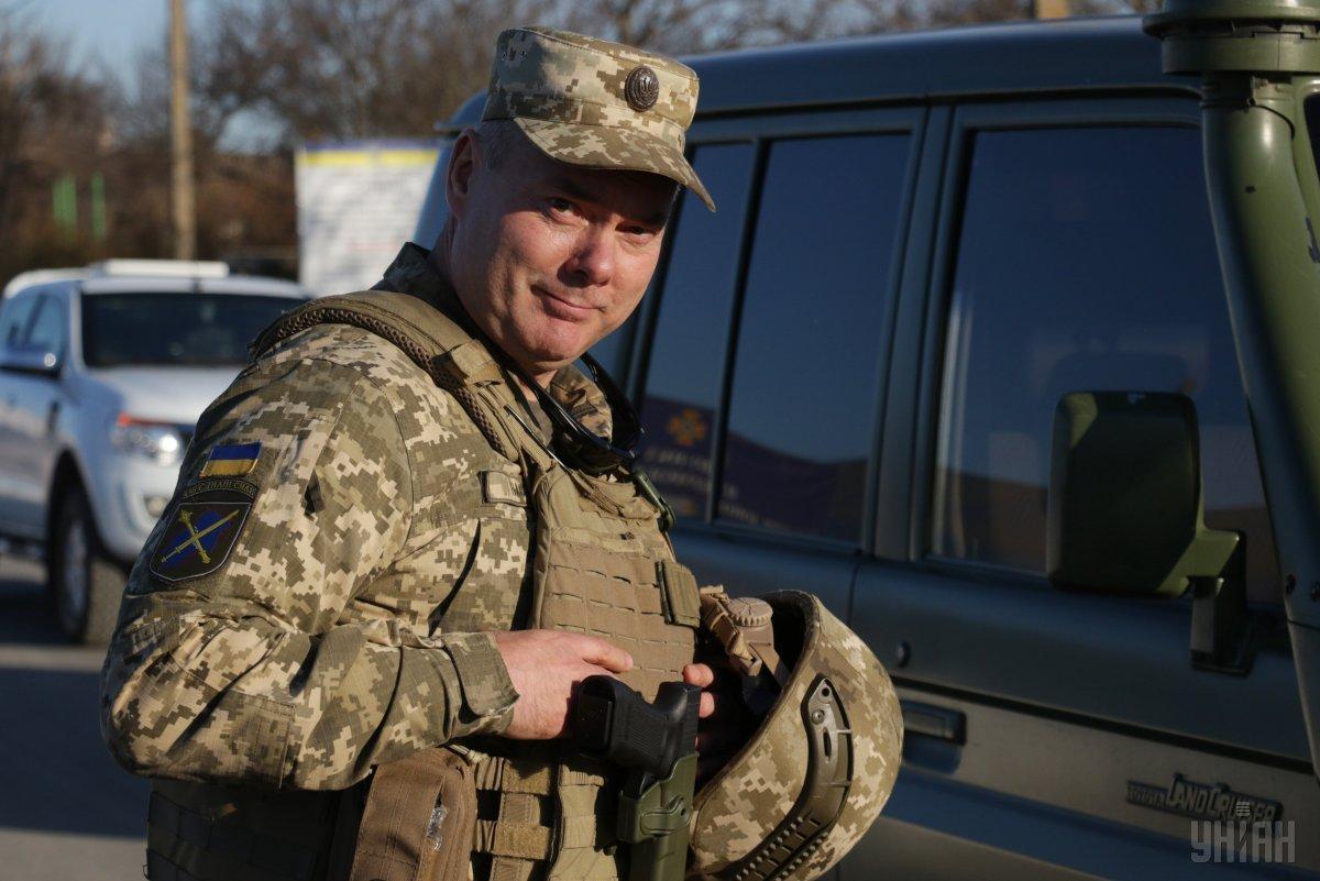 Зеленський призначив Наєва командувачем Об'єднаних сил / фото УНІАН